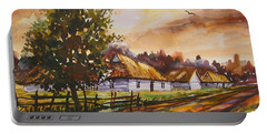 Autumn Cottages Portable Battery Charger