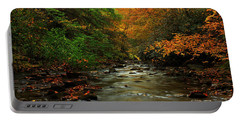 Autumn Creek Portable Battery Charger by Melissa Petrey