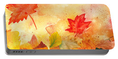 Autumn Dance Portable Battery Charger