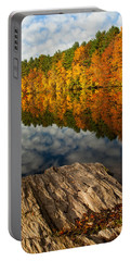 Autumn Day Portable Battery Charger by Karol Livote