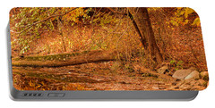 Autumn Day Portable Battery Charger by Lourry Legarde