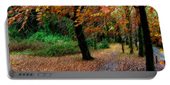 Autumn Entrance To Muckross House Killarney Portable Battery Charger