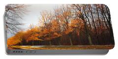 Autumn Fire Portable Battery Charger by Randi Grace Nilsberg