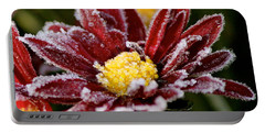 Autumn Frost Portable Battery Charger by Tiffany Erdman
