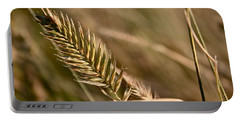 Autumn Grasses Portable Battery Charger