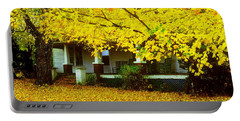 Portable Battery Charger featuring the photograph Autumn Homestead by Rodney Lee Williams