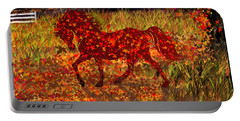 Autumn Horse Bewitched Portable Battery Charger
