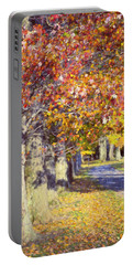 Autumn In Hyde Park Portable Battery Charger