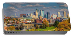 Autumn In Kansas City Portable Battery Charger