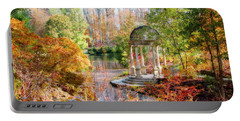 Autumn In Longwood Gardens Portable Battery Charger