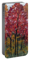 Autumn In Nashville Portable Battery Charger by Holly Carmichael