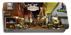Autumn In Penny Lane - Rehoboth Beach Delaware Portable Battery Charger