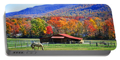 Autumn In Rural Virginia  Portable Battery Charger
