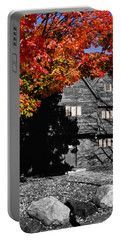 Autumn In Salem Portable Battery Charger by Jeff Folger