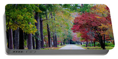 Portable Battery Charger featuring the photograph Autumn In The Air by Cynthia Guinn