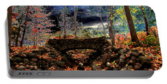 Autumn In The Meadow Portable Battery Charger