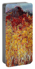 Autumn In The Pioneer Valley Portable Battery Charger