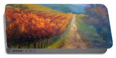 Autumn In The Vineyard Portable Battery Charger