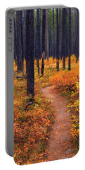 Autumn In Yellowstone Portable Battery Charger