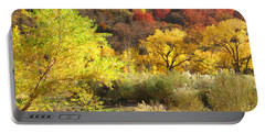 Autumn In Zion Portable Battery Charger by Alan Socolik