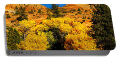Portable Battery Charger featuring the photograph Autumn In Zion by Greg Norrell