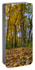 Portable Battery Charger featuring the photograph Autumn Is Here by Sebastian Musial