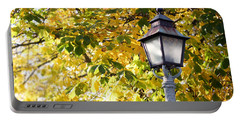 Autumn Lamp Post Portable Battery Charger