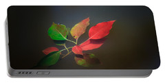 Autumn Leaves Floating Portable Battery Charger