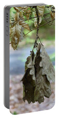 Autumn Leaves In Summer Portable Battery Charger