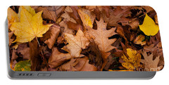 Portable Battery Charger featuring the photograph Autumn Leaves by Matt Malloy