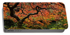 Autumn Magnificence Portable Battery Charger by Don Schwartz