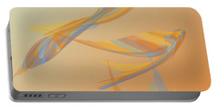 Portable Battery Charger featuring the digital art Autumn Migration by Stephanie Grant