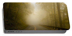 Autumn Mist Blue Ridge Parkway Portable Battery Charger by Terry DeLuco