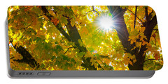 Autumn Morn Portable Battery Charger