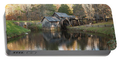Autumn Morning At Mabry Mill Portable Battery Charger