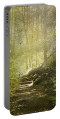 Autumn Myst Portable Battery Charger by Diane Schuster
