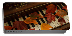 Autumn Piano 14 Portable Battery Charger by Mick Anderson