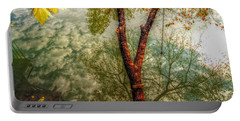 Portable Battery Charger featuring the photograph Autumn Reflection  by Peggy Franz
