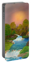 Autumn Retreat Portable Battery Charger