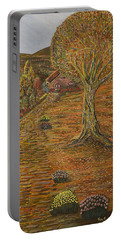 Autumn Sequence Portable Battery Charger by Felicia Tica