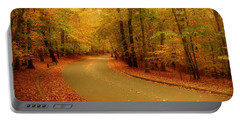 Autumn Serenity - Holmdel Park  Portable Battery Charger