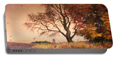 Autumn Simphony In France  Portable Battery Charger by Sorin Apostolescu