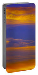 Autumn Sky Portrait Portable Battery Charger