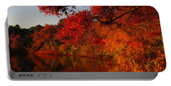 Portable Battery Charger featuring the photograph Autumn Splendor  by Dianne Cowen