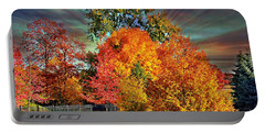 Autumn Splendor Portable Battery Charger by Judy Palkimas