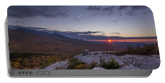 Autumn Sunset Over Sugarloaf Mountain Portable Battery Charger