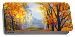 Autumn Trail Portable Battery Charger by Darren Robinson