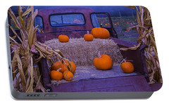 Autumn Truck Portable Battery Charger by Garry Gay