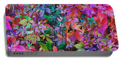 Autumn Virginia Creeper Portable Battery Charger