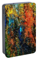Portable Battery Charger featuring the digital art Autumn Visions Remembered by David Lane